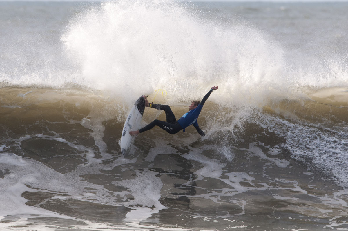 Johnny conquers Croyde