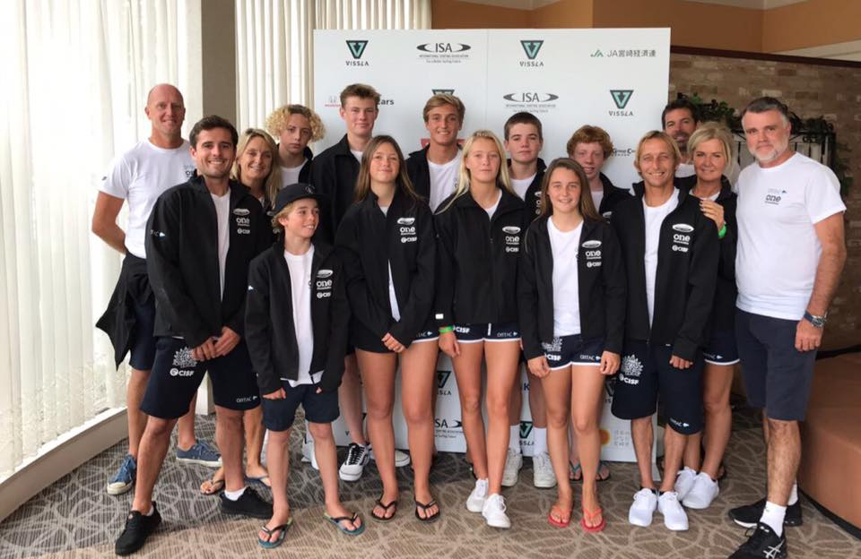 Tom & Louis in Japan for ISA World Junior Champs!!!