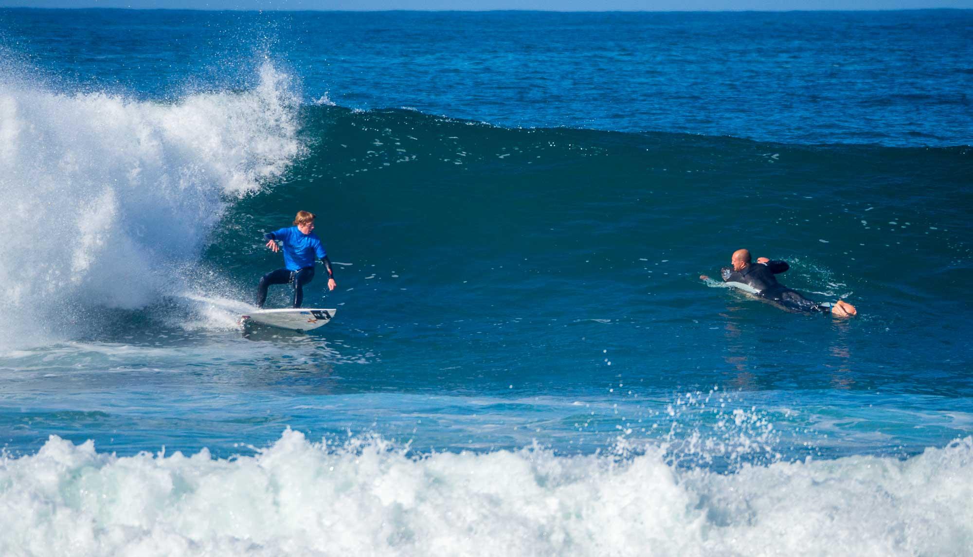 U18s Surf Comp Perrelle Guernsey
