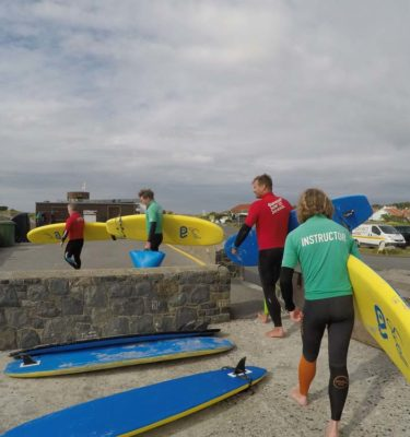 Life Saving Training Course with the Guernsey Surf School