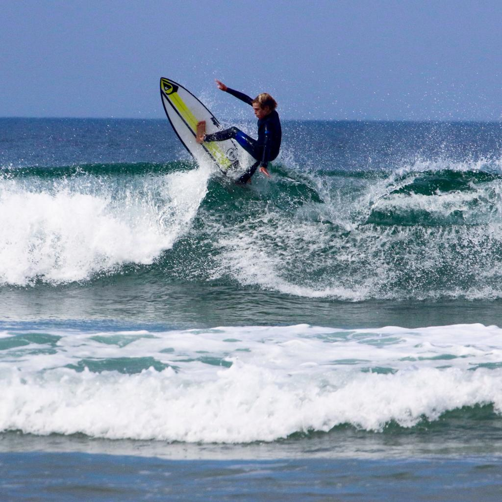 'Tom Hook' travelling to the the World Junior Surfing Championships as part of the CISF team.